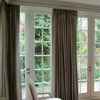 Lined only pinch pleat curtains. Private residence UK
