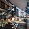 Neo Bankside Penthouse Lounge. Private residence UK
